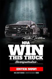 NRA Truck Giveaway! Richard Childress Racing Custom Chevy Silverado ... Hf Truck Giveaway Video Youtube Safety Contest Truck Giveaway Power Design Inc Peterbilt To Celebrate Emillionth Truck With Giveaway Contest Rocky Ridge Trucks True American Hero Sema Nada Diesel Brothers Mega Ram And Van Video Longtime Industry Pro Wins At The Western Pool Toyota Tacoma 2018 12 Valve Cummins Build Plan Join Us For Giveaways And Win A Brand New At Grossmont Center Armor Up Going On Now Shotover G1 Giveaway Nimia Chaparral Ford Giving Away In Moonlight Madness Nov