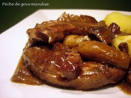 cuisiner des tendrons de veau tendrons de veau aux cèpes sauce vin à ma façon péché de