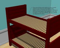 ana white side street bunk beds diy projects