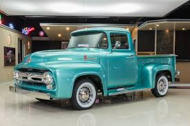 100 F100 Ford Truck 1956 Classic Cars For Sale Michigan Muscle