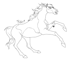 Spirit And Rain Coloring Pages