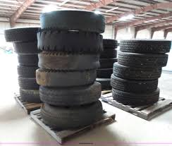 100 14 Truck Tires Tires Item BZ9159 SOLD July Construction Equip