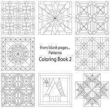 7 Name Quilting From Blank Pages Pattern Coloring Book 2
