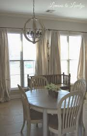 Sewing Curtains For Traverse Rods by Easy No Sew Drop Cloth Curtains With Pleats U2013 Lemons To Lovelys