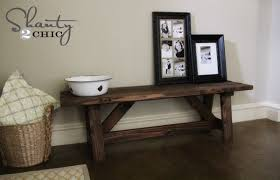 Diy Bench For The Entryway 15 Shanty 2 Chic Table
