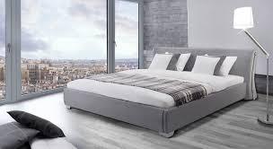 Beliani Water Bed Super King Size Full Set PARIS grey Eng
