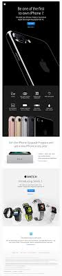 Apple sent this email with the subject line iPhone 7 and Apple