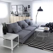 beautiful house of svartvitrandig with ikea söderhamn sofa ps
