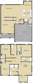 4 br 2 ba 2 story floor plan house design for sale charlotte nc