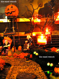Dept 56 Halloween Village by From Sassi Who Lived It Miniature Halloween Village
