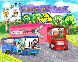Kids' Art Contest Past Winners | Federal Motor Carrier Safety ...