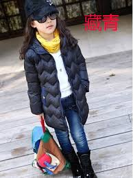 2014 Cuhk Tong Street Fashion Girls Winter Clothing Japan And South Wind Long Wave Point Cap Dust Coat Quilted Jacket In Down Parkas From Mother Kids