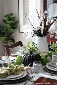 How To Add Style Your Fall Dining Room Easy Centerpiece And