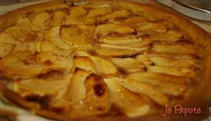 tarte aux pommes facile je papote
