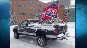 NJ Teen Says He Was Suspended For Flying Confederate Flag On Truck ... Confederate Flag Truck Seat Covers Velcromag Columbia Spy A Case Of Mistaken Identity Rebel Edition Ford F150 Youtube Flags Flying At School Causing Stir Accsories Bozbuz In Canton Parade Spark Outrage Wlos Flags Pop Up At Christmas Parade Bpr Cop Flies Antitrump Protest Texans Are Very Upset That This Food Wants To Burn Fans Face Gang Charge For Crashing Black Kids Party Someone Should Explain This Me There Were About A Dozen Trucks Flag Ehs Concerns Upsets Community The Ellsworth