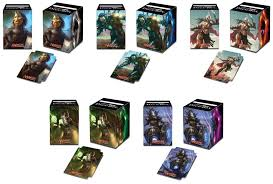 Magic The Gathering Edh Deck Box by Mtg Realm Commander 2015 Ultra Pro