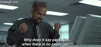 Why Does It Say Paper Jam When There Is No Funny Gifs