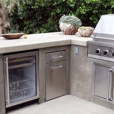 An Outdoor Fridge Is An Essential For A High End Built In Bbq