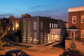 100 Studio Dwell Chicago The Brick Weave House In