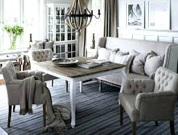 Dining Room Bench With Back Upholstered Likeable Table
