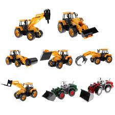 4 Types 1/64 Engineering Construction Vehicle Car Dump Car Dump ...