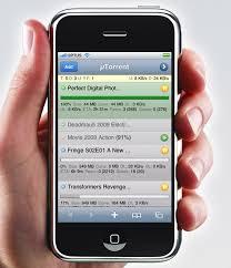 uTorrent Web is the uTorrent App for iPhone