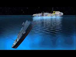 Titanic Sinking Simulation Real Time by New Detailed Reconstruction Of Titanic U0027s Sinking Narrated By James