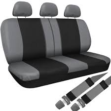 Amazon.com: OxGord Flat Cloth Bucket Seat Cover Set For Car, Truck ... Truck Bench Seat Covers S 1997 Chevy Pink Camo 1978 Symbianologyinfo Pickup Regal Gray Cover Odorless Car Rubber Floor For Trucks Amazoncom A25 Toyota Front Solid Formidable Picturepirations Baby Walmart Tie Cartruckvansuv 6040 2040 50 W 21996 Ford Kit Channel Tweed Closed Back Dogs Bunch Ideas Of On 81 87 C10 Houndstooth Seat Covers Ricks Custom Upholstery