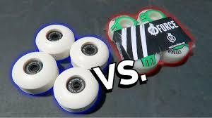 Blank Skateboard Decks 80 by Blank Skateboard Wheels Vs Pro Skateboard Wheels Youtube