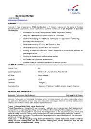 Sandeep Qa Resume