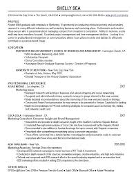 Resume Examples After First Job ResumeExamples