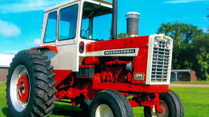 Machine Shed Davenport Ia by 1965 International 1206 Wheatland Diesel Presented As Lot F43 At