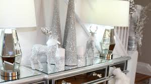 Today I Am Showing You Three Glam But Simple Ways To Decorate Your Dining Room Buffet Sideboard For Christmas With Items Can Easily Find At Stores