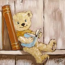 tableau ourson chambre bébé cadre ourson chambre bebe visuel 4