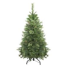 Northlight Pre Lit Atlanta Mixed Cashmere Pine Medium Artificial Christmas Tree With Clear Lights 4