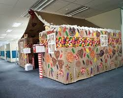 Office Cubicle Christmas Decorating Ideas by Christmas Decoration Office Themes Mouthtoears Com