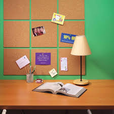 cork tiles bulletin board quartet x frameless modular pack