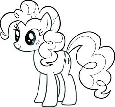 Coloring Mlp Pages My Little Pony Rarity Free Printable