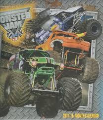 100 Gravedigger Monster Truck 2014 USHRA Jam Sealed Calendar Grave Digger EBay
