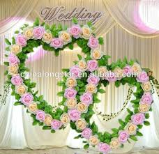 Beautiful Artificial Flowers Garlands Used For Wedding Stage Decoration