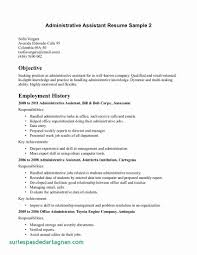 Sample Administrative Assistant Resume Templates Admin Free Inspirational Objective Examples For Luxury