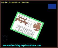 octagon picnic table plans and drawings 165553 woodworking plans