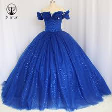 popular quinceanera dresses dark royal blue buy cheap quinceanera