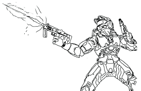 Articles With Halo Reach Coloring Pages To Print Tag Halo