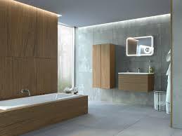 badezimmermöbel nussbaum 4 teilige led beleuchtung vormontiert