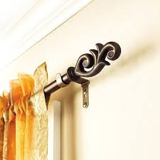 Walmart Curtain Rods 120 by Amazon Com Better Homes And Gardens Flourish Curtain Rod 5 8