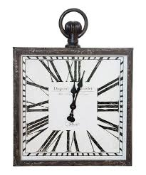 Small Square Black Wall Clock Pottery Barn Large Wall Clocks Ashleys Nest Potterybarn Inspired Clock Black Railway Regulator Ebth Union Station Au Rustic Pendant 16 Best Giant Images On Pinterest Wall Clock Just Photocopy 4 Diff Faces And Put Them Under A Glass Plate Oversized John Robinson House Decor Mount Digital Timer
