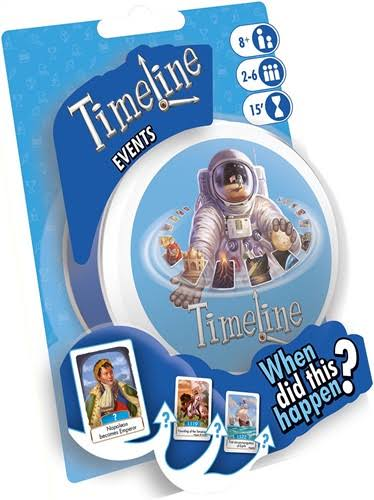 Asmodee Timeline Events Blister Toy