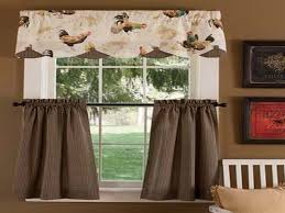 Modern Cafe Kitchen Curtains Com Ideas With Regard To Curtain Plans 4