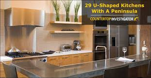 29 U Shaped Kitchens With A Peninsula
